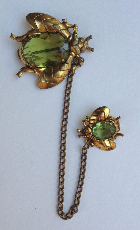 Mother & Baby Bug Pins by Artifactually on Etsy, $17.00