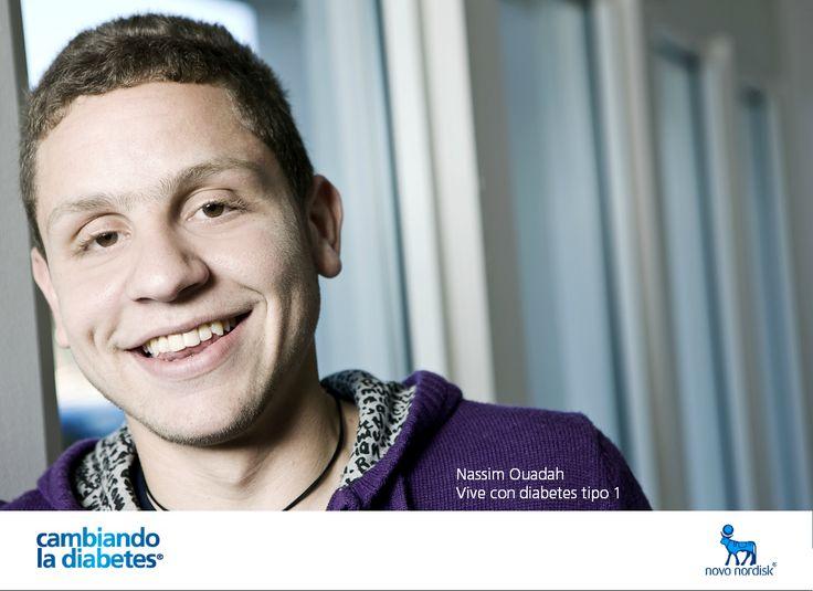 Nassim Ouadah vive con #diabetes #tipo1. Le sonríe a la vida y disfruta de sus actividades favoritas, sin descuidar su tratamiento. Como él, muchos jóvenes en el mundo están #cambiandoladiabetes