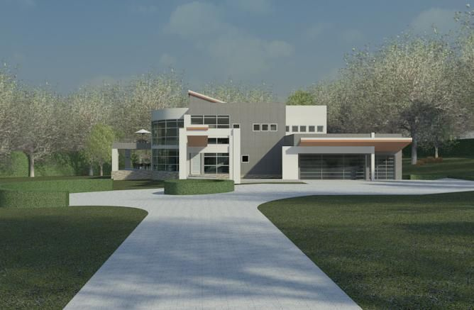 1000 images about revit renders on pinterest house for Revit architecture house design
