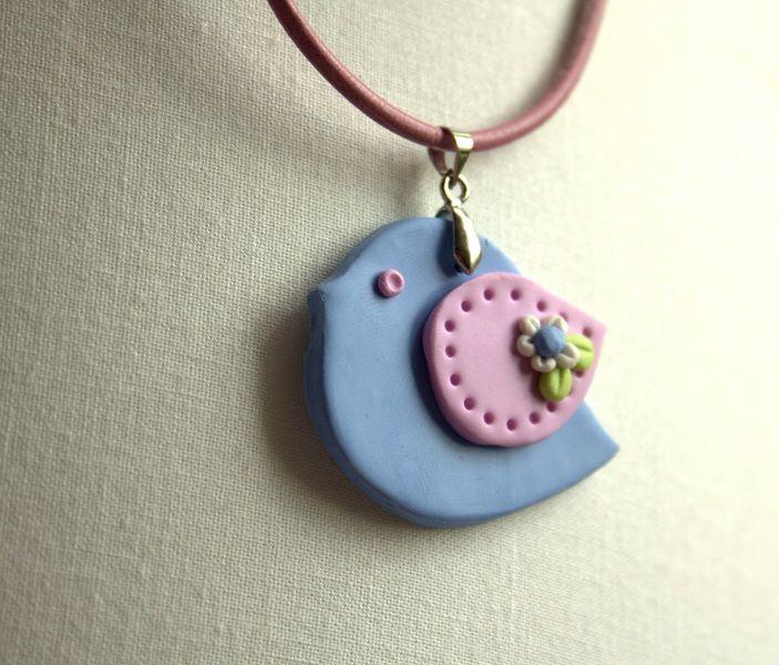 Colliers - Schöne Halskette/Collier Birdie Romantik - ein Designerstück von MIO-O bei DaWanda