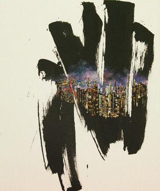 """Saatchi Online Artist JIEUN PARK; Painting, """"56. A little talk-hongkong(exhibition)"""" #art"""