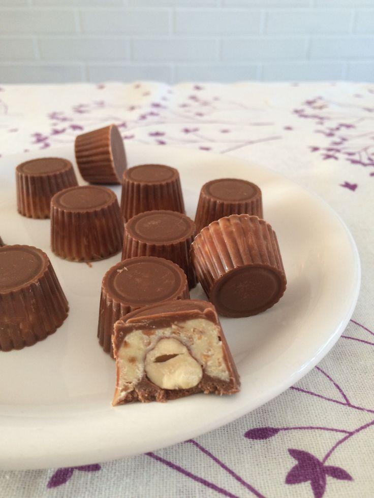 Ces petits chocolats façon Schoko-bons® raviront vos papilles à tout moment de l'année. Offrez-les aussi à vos proches pendant les fêtes.