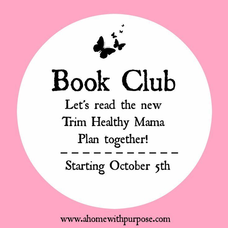 Book Club~ Trim Healthy Mama Plan