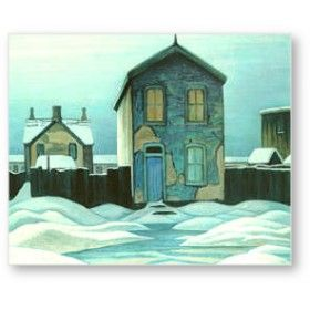 Blue and White. Lawren Harris. Group of Seven