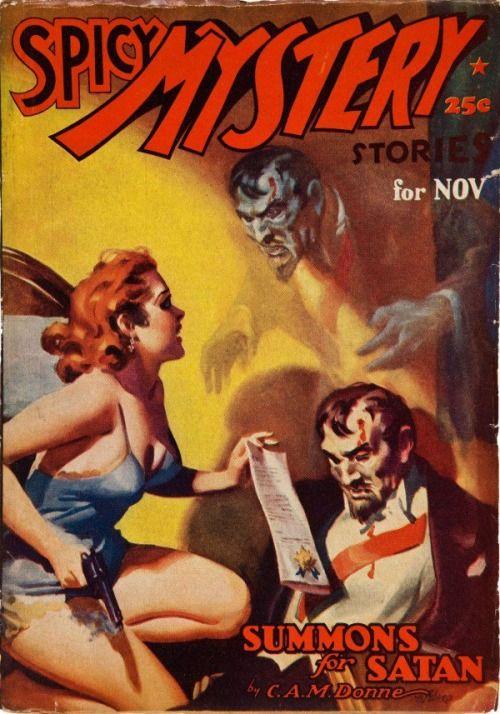 Spicy Mystery Stories, November YYYY