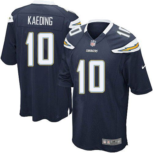 Youth Nike San Diego Chargers #10 Nate Kaeding Limited Navy Blue Team Color NFL Jersey Sale