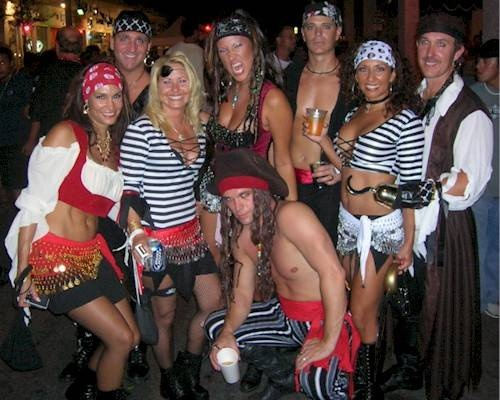 Key Wests Wacky  Day Crazier Than Mardi Gras Halloween Celebration Couples And Group Costumes Pinterest Fantasy Key West And Halloween