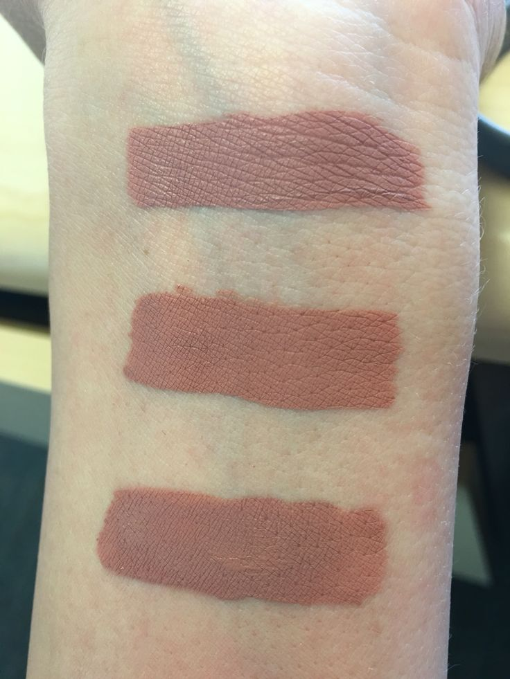 Top to bottom: Too Faced- Child Star, Jeffree Star- Mannequin, Anastasia Beverly Hills- Stripped.