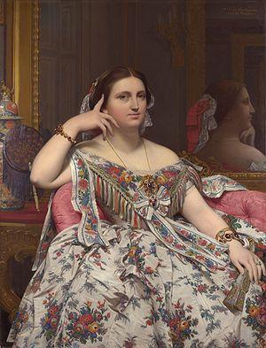 Madame Moitessier  1856, Jean-Auguste-Dominique Ingres