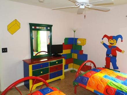Lego Themed Bedroom Decor Ideas For Grandkids Playroom