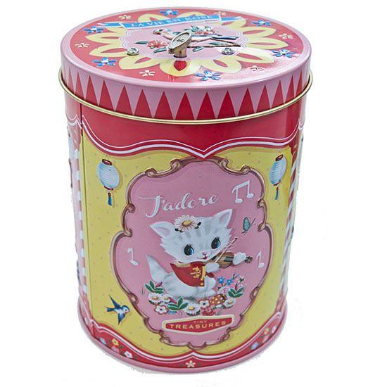 Kitsch.fi - Cotton Candy, Soittorasia / Peltipurkki 18,20,-