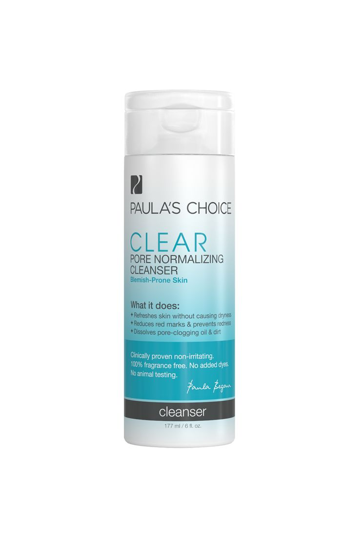 I use this facial cleanser every morning.  I have the occasional blemish, but I use this product to mainly help prevent clogged pores.  This cleanser  is drying for my skin, so I have to use a moisturizer.