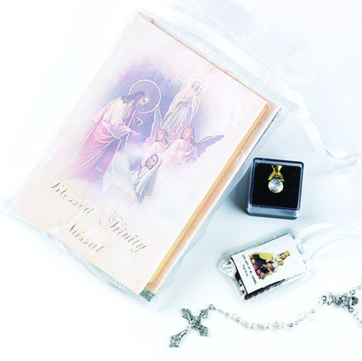 """""""BLESSED TRINITY"""" FIRST COMMUNION SET"""