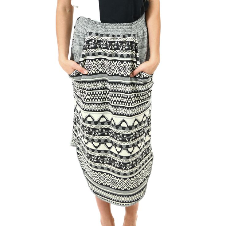 Skirt with Inca-pattern