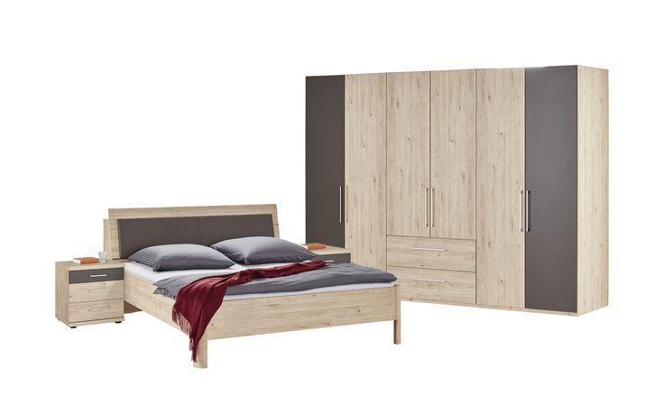 Uno Holzfarben Komplett Schlafzimmer Hoffner Komplettes Schlafzimmer Schoner Wohnen Schlafzimmer Haus Deko