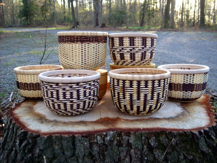 At Magnolia Baskets, we offer basket weaving classes, and show you how to use space dyed reed and cane to make very unique baskets! Description from magnolia-baskets.com. I searched for this on bing.com/images