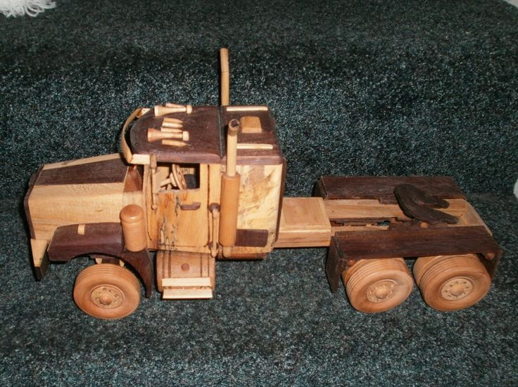 Cars And Trucks Wooden Toy Plans : Best images about wood model toy trucks on pinterest