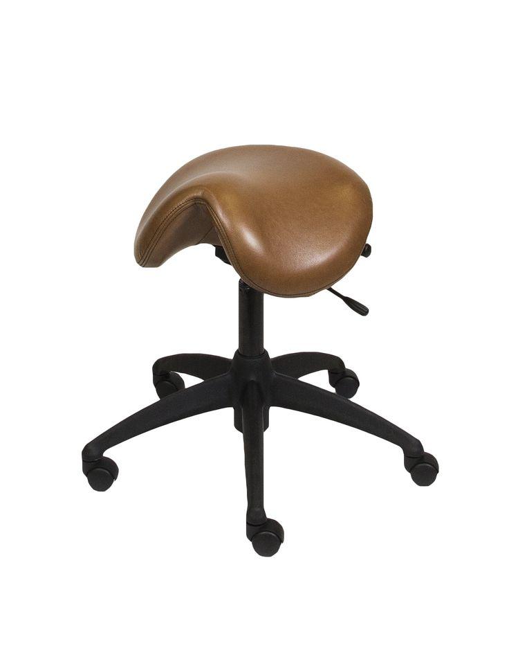 LIFEFORM Saddle Stool Harness Leather