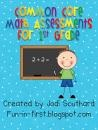 Common Core Math Assessments for 1st Grade product from Jodi on TeachersNotebook.com: Grade Math, Common Core Math, Math Ideas, Common Cores Math, Math Assessment, Grade Products, Math Misc, 2Nd Grade, 1St Grade
