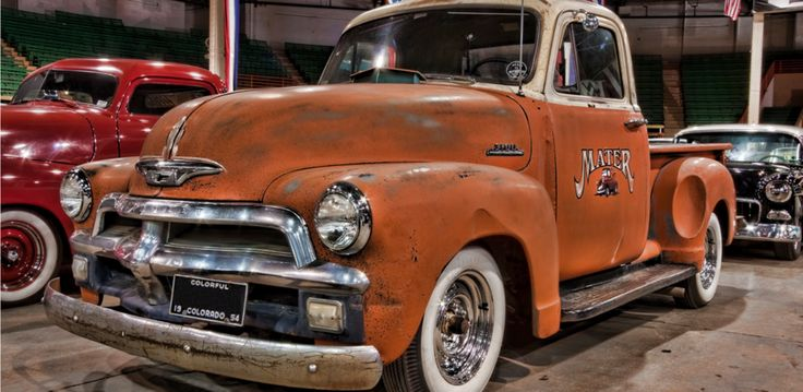 The Classic 1954 Chevy Truck... the picture speaks for it self...   Visit our…