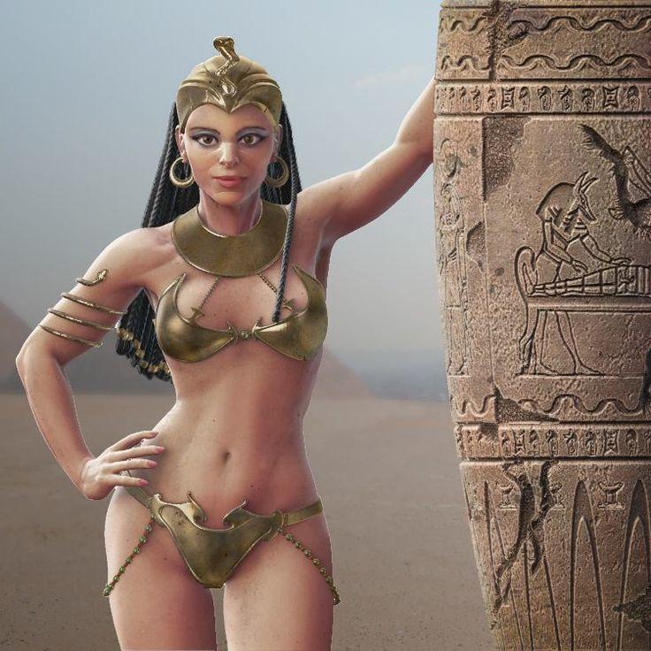 #Zbrush #3D #Photoshop #Queen #Egipt #ReinaEgipcia #Cleopatra