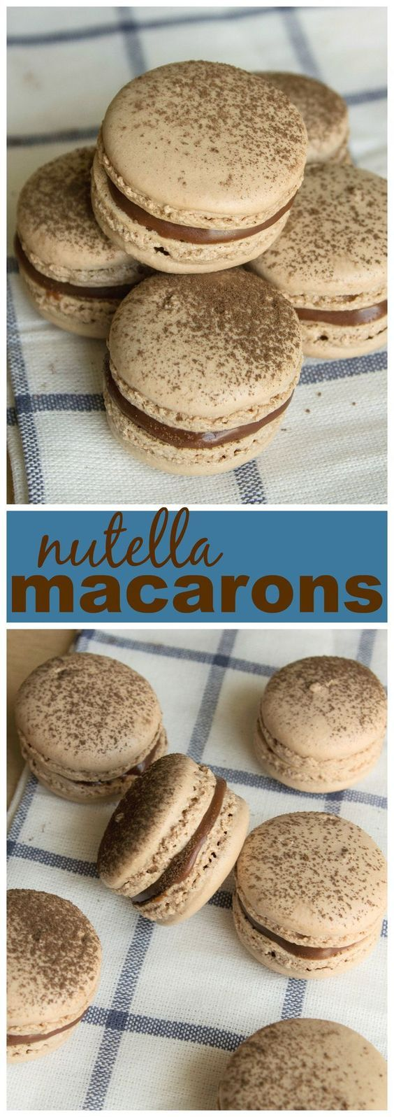 Nutella Macarons More