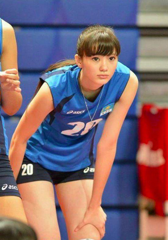 Sabina Altynbekova, volleyball player from kazakhstan