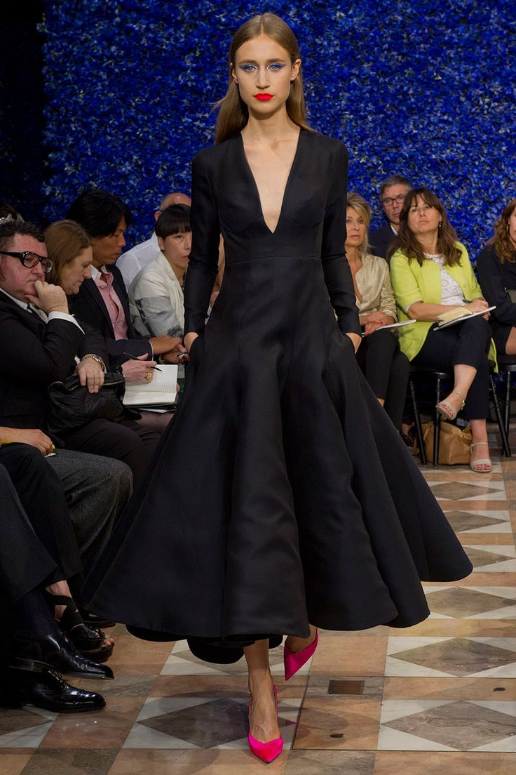 Christian Dior - I like to see which celebrity could pull off this outfit. Has to be someone tall.