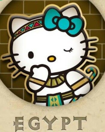 Hello Egypt Kitty