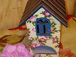 Используем ткань в декупаже вместо салфеток на примере декорирования чайного домика - Ярмарка Мастеров - Маришка - Ярмарка Мастеров http://www.livemaster.ru/topic/1827077-ispolzuem-tkan-v-dekupazhe-vmesto-salfetok-na-primere-dekorirovaniya-chajnogo-domika