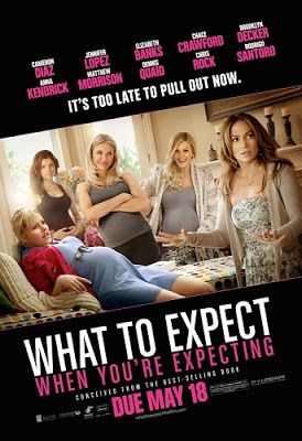 What To Expect When Youre Expecting (2012) 6/10 Pros - pretty funny moments, interesting weave of characters, not glamorized, good portrayal of life with kids Cons - childbirth, miscarriage seemed unnecessary, too many characters were celebrities, not a ton to take away, could be seen as sexist