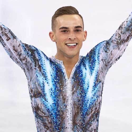 Olympian Adam Rippons Smile & Skating Equally Dazzling