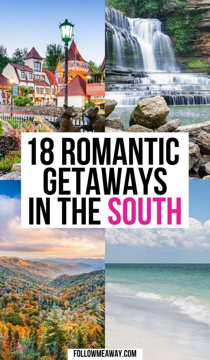 18 Interesting Weekend Getaways In The South Weekend Getaways In The South Southern Travel Best Weekend Trips