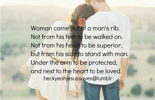AMEN: God, Sweet, Quotes, Woman, Truth, So True, Man S Rib, To Be Loved