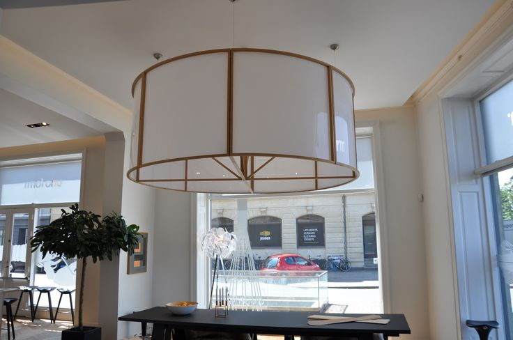 "Lamp to Unoforms showroom.  #interior #design #lamp ""unoform  http://www.kjeldtoft.com/"
