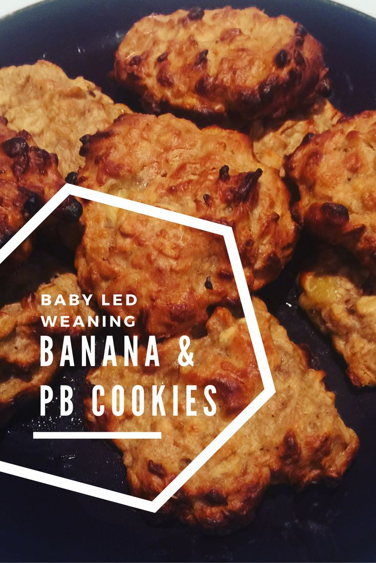 Banana and Peanut Butter Oat Cookies - Baby Led Weaning Recipes   Nicola ‍♀️  #foodiefriday