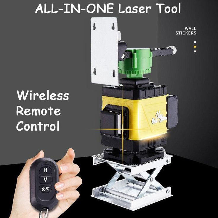 (Holiday carnival 40 OFF)3D Green Beam Laser Level