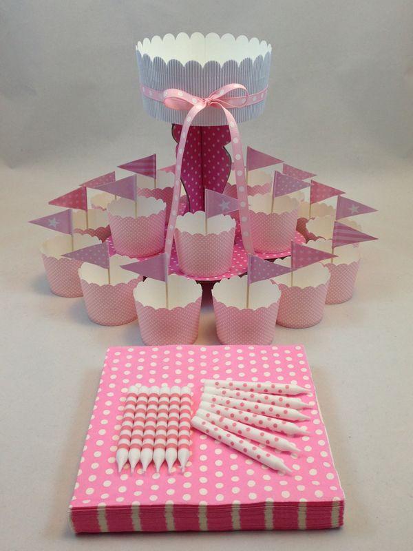Pink & White Spot Mini Kit. Click here http://www.icingonthecakekits.com/item_48/Pink-White-Spot-Mini-Kit.htm $24.95