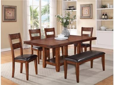 Charming Shop For Crown Mark Peyton Dining Table, 2100T 4278, And Other Dining Room  Dining Tables At Furniture Warehouse Showroom, LLC In Lyman, SC.