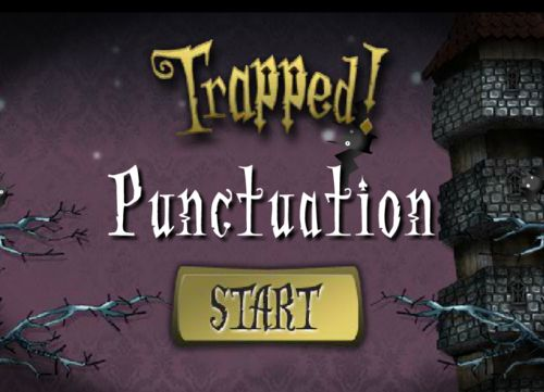 FREE ONLINE PUNCTUATION GAME~  Students play Trapped!   It's a fun, interactive game from the BBC that provides great practice in punctuation skills.  Students can listen or read subtitles.