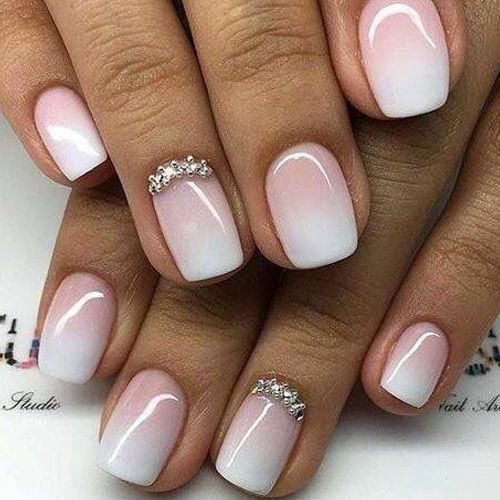 Best Ombre Nails For 2018 48 Trending Ombre Nail Designs Best Nail Art Acrylics Bride