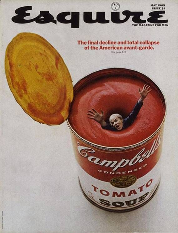 Andy Warhol, Esquire.