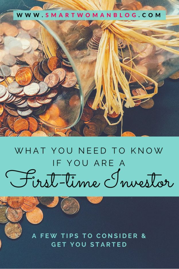 If you're new to investing, here's a few tips you might consider before jumping in. // Smart Woman