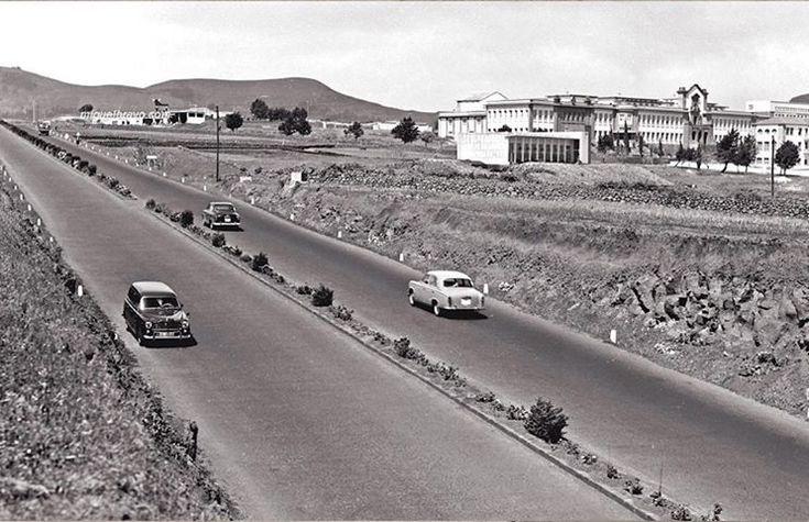 Foto Antigua de la Autopista del Norte