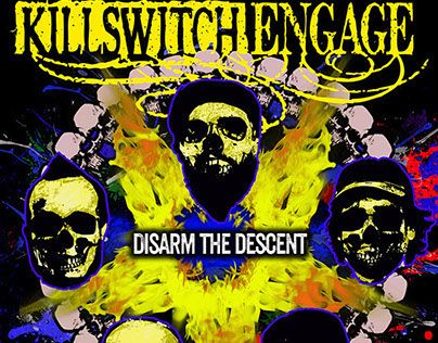 "Check out my @Behance project: ""KILLSWITCH ENGAGE"" https://www.behance.net/gallery/17927631/KILLSWITCH-ENGAGE"