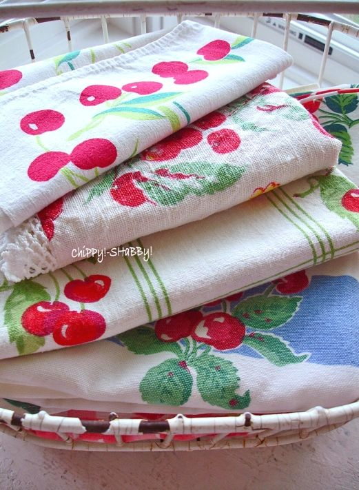 lovely vintage tablecloths                                                                                                                                                                                 More