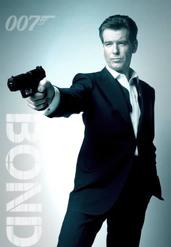 Pierce Brosnan as James Bond :)/****He and Sean Connery would be my top picks.