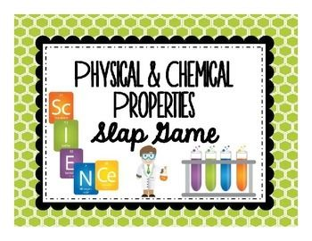 Instead of having questions up on the SMARTBoard when the kids come in, I like to have something hands-on for them to do. One of the ways I like to do this is to have my students play a game as soon as they walk through my door.I have my students play this game after I've given the physical & chemical properties notes.