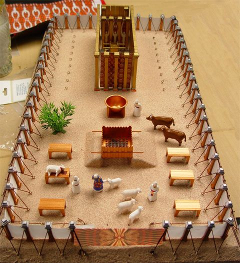 How to paint the tabernacle model