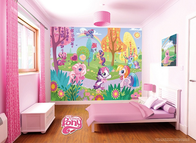 My-Little-Pony-Bedroom-Scene by NewBabyBerry, via Flickr